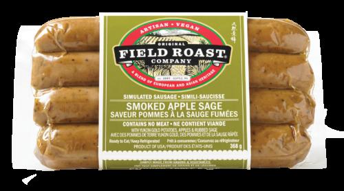 Smoked Apple Sage Sausage Vegan Sausages Sage Sausage Vegan Sausage Field Roast