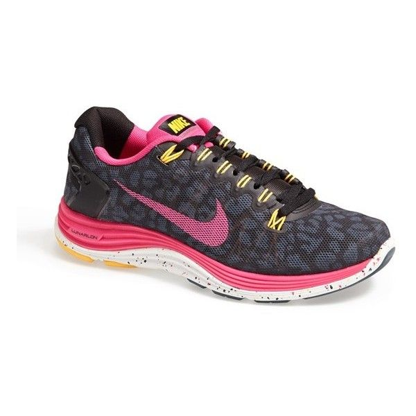 Nike 'LunarGlide 5' Running Shoe (Women) Dark Sea/ Teal/ Pink 6.5 M