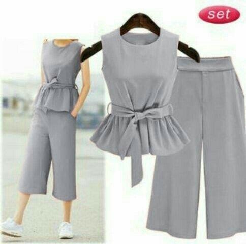 Baju Overall Celana Kulot