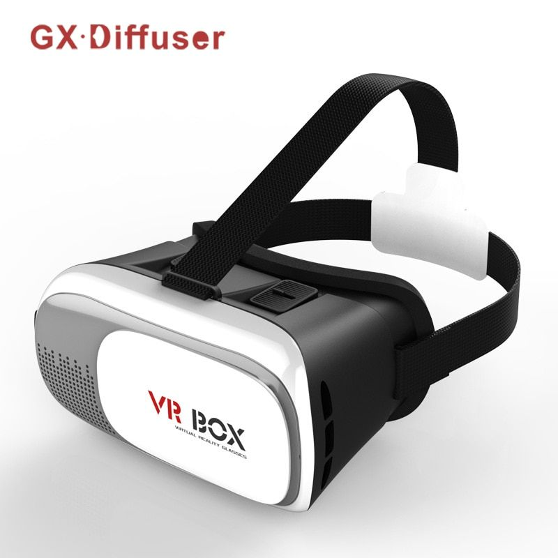 6413640a4206 GX Diffuser Virtual Reality VR Glasses 3D Cardboard Helmet Headset 3D Video  Stereo Gamepad 5.0 Home