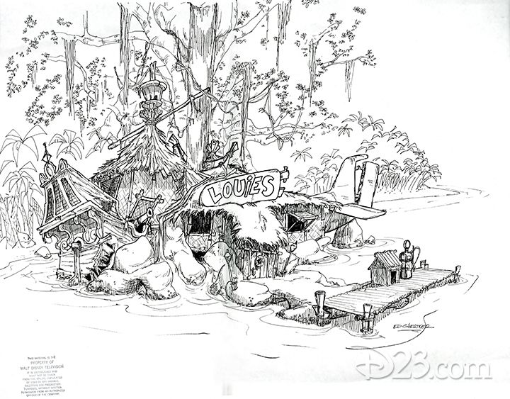 An early concept for TaleSpin (Disney) Art, Concept art
