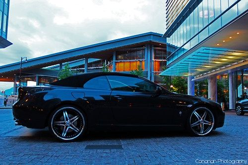 Bmw 645ci At Downtown Vancouver Taken On Canada Day Cool Cars
