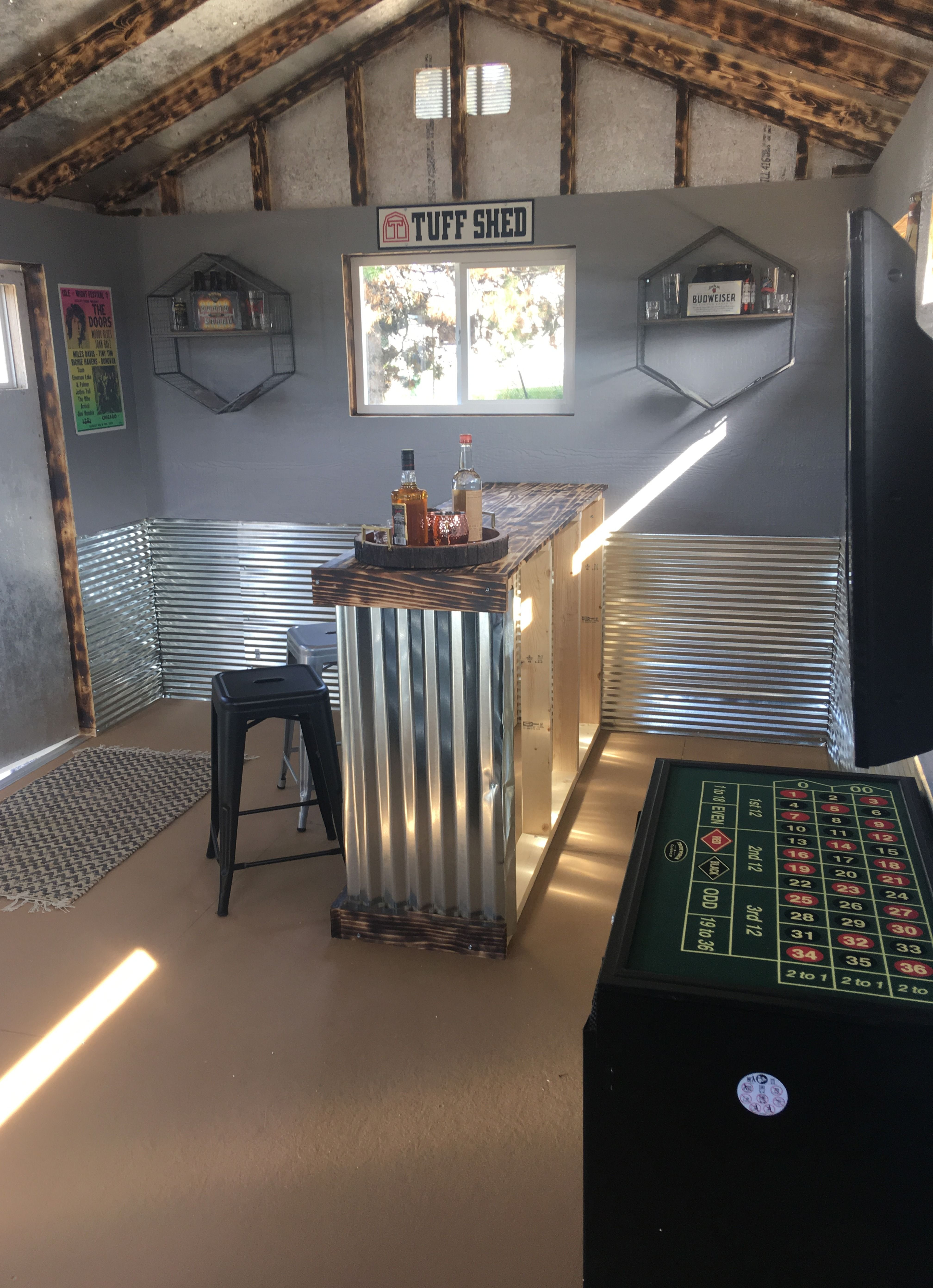 Design A Man Cave Worthy Of A Grunt Tuff Shed Man Cave Shed Backyard Shed Man Cave Man Cave