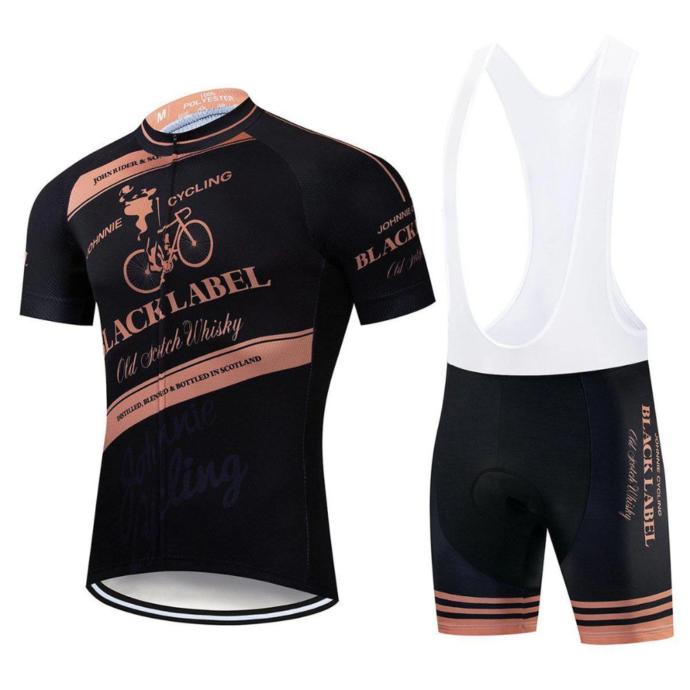 Johnnie Johnny Whiskey Cycling Jersey Kit
