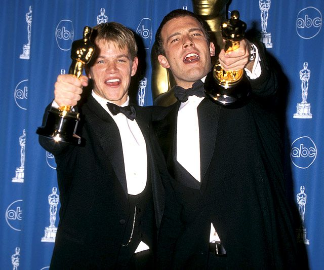 Matt Damon And Ben Affleck S Bromance Through The Years Matt Damon Ben Affleck Matt Damon Ben Affleck