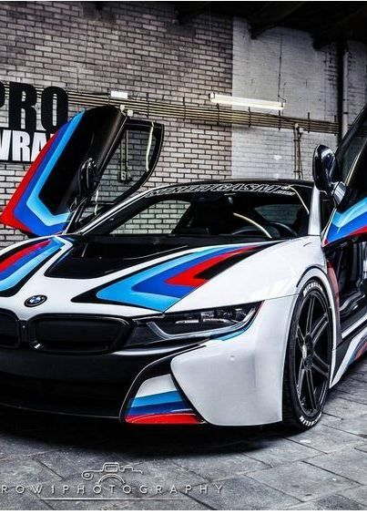 Custom Wrapped Bmw I8 By Prowrap In The Netherlands Carros Bmw
