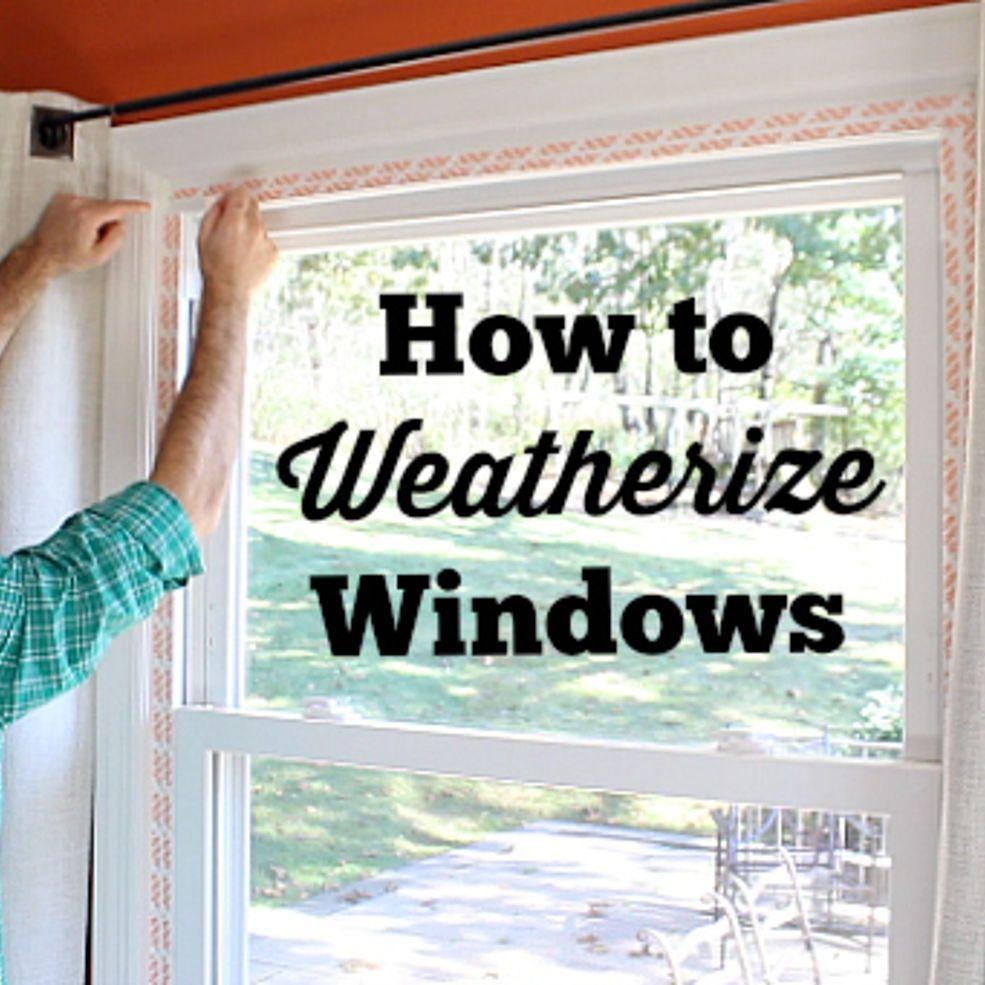 Ingenious Window Insulation Tip Window Insulation Diy