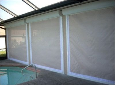 hurricane window screens retractable naples hurricane impact window protection with certified florida screen