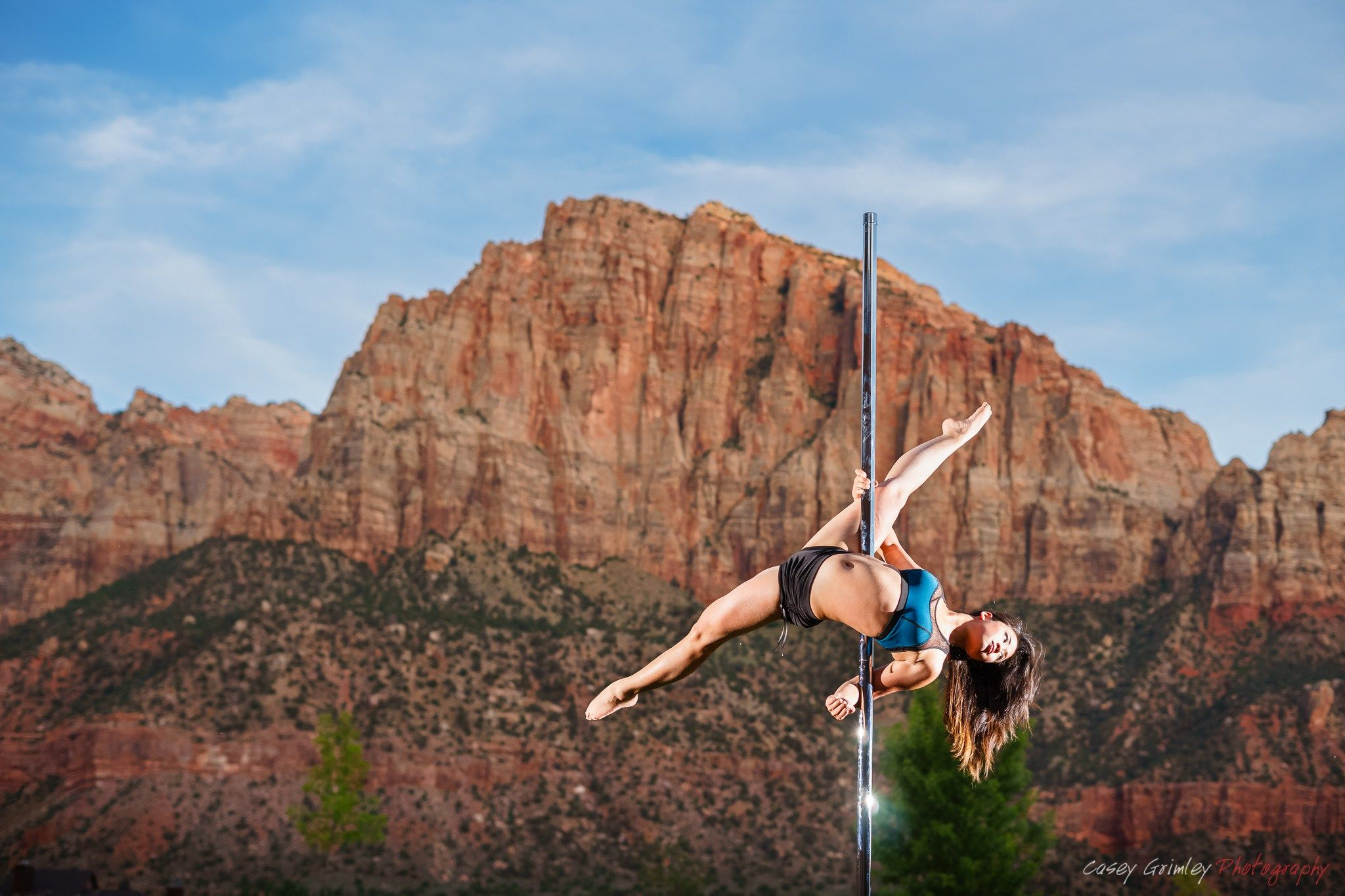 Photo set casey grimleys dancing with the stars pole