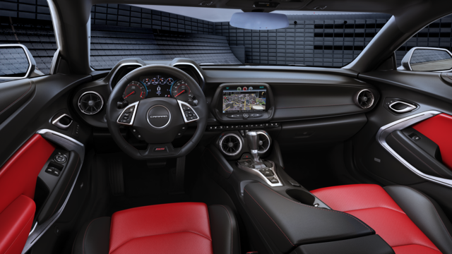 2016 Chevrolet Camaro Interior Adrenaline Red Front Leather