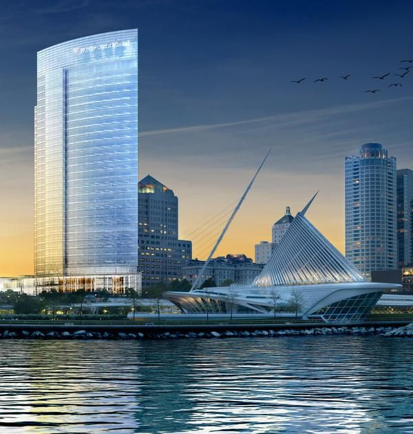 Coming Soon Northwestern Mutual Office Tower Milwaukee Art