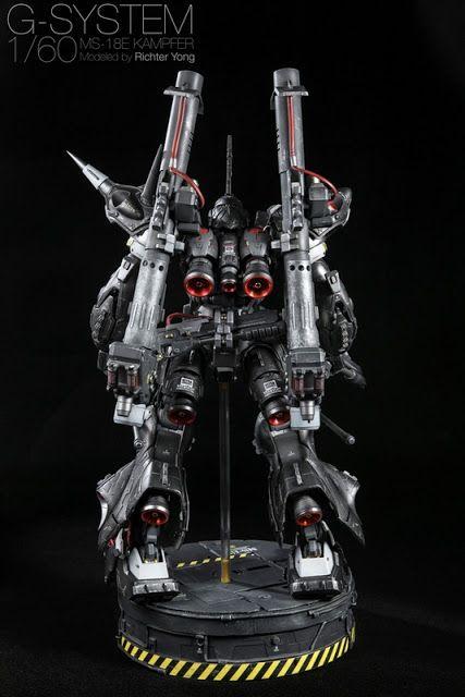 Gundam Family: G-System 1/60 MS-18E Kampfer Painted Build