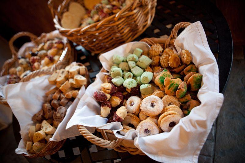 Wedding+Food+Ideas | Rustic Virginia Vineyard Wedding Reception ...