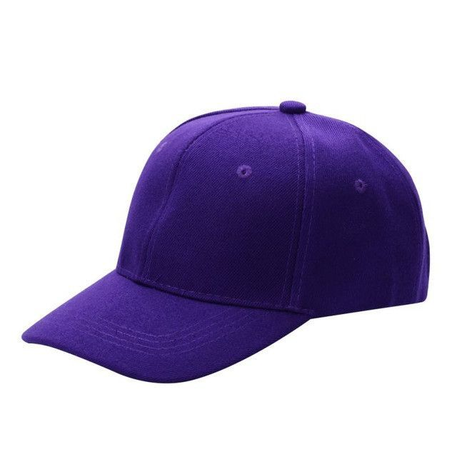Men Women Plain Baseball Cap Unisex Curved Visor Hat Hip-Hop Adjustable  Peaked Hat Visor Caps Solid Color 8952d8b1824e