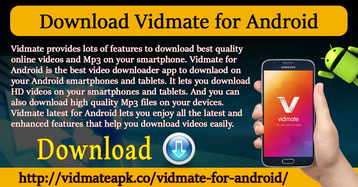 Vidmate Apk Latest V 4 1809 Download For Android Ios And Pc