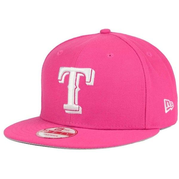 fdcc8a443cd New Era Texas Rangers C-Dub 9FIFTY Snapback Cap ( 25) ❤ liked on ...