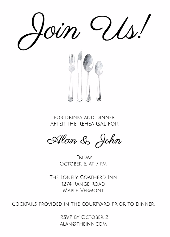 guide to rehearsal dinner invitation wording wedding in 2018