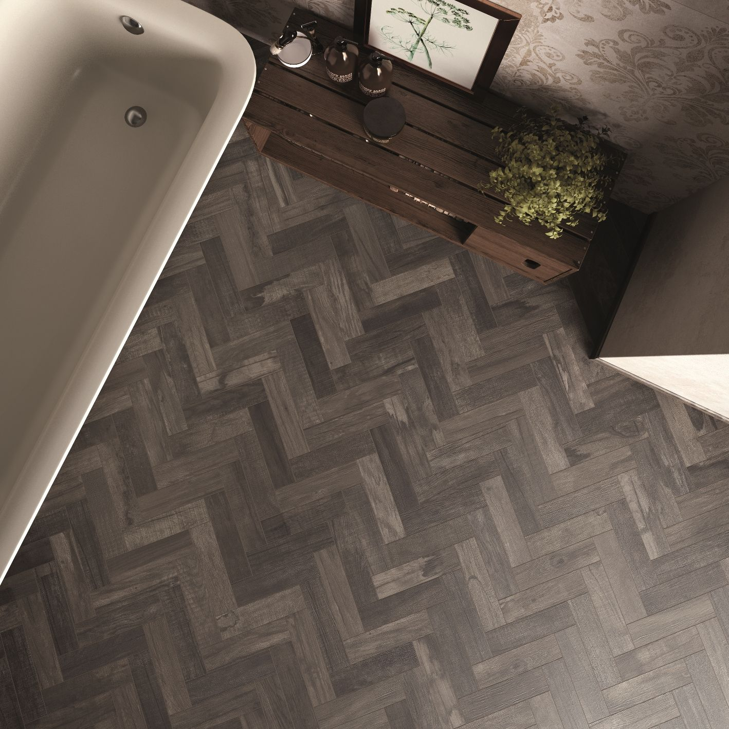 Da questa immagine si apprezza ogni dettaglio del pavimento porcelain stoneware wallfloor tiles with wood effect dolphin by abk industrie ceramicheabk industrie ceramiche s dailygadgetfo Choice Image