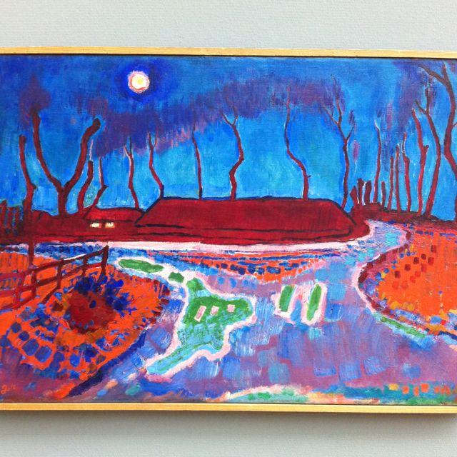 Jan Sluijters, Maannacht II, Gemeentemuseum Den Haag
