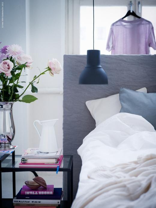 DIY - egen sänggavel Redaktionen inspiration från IKEA - schlafzimmer landhausstil ikea