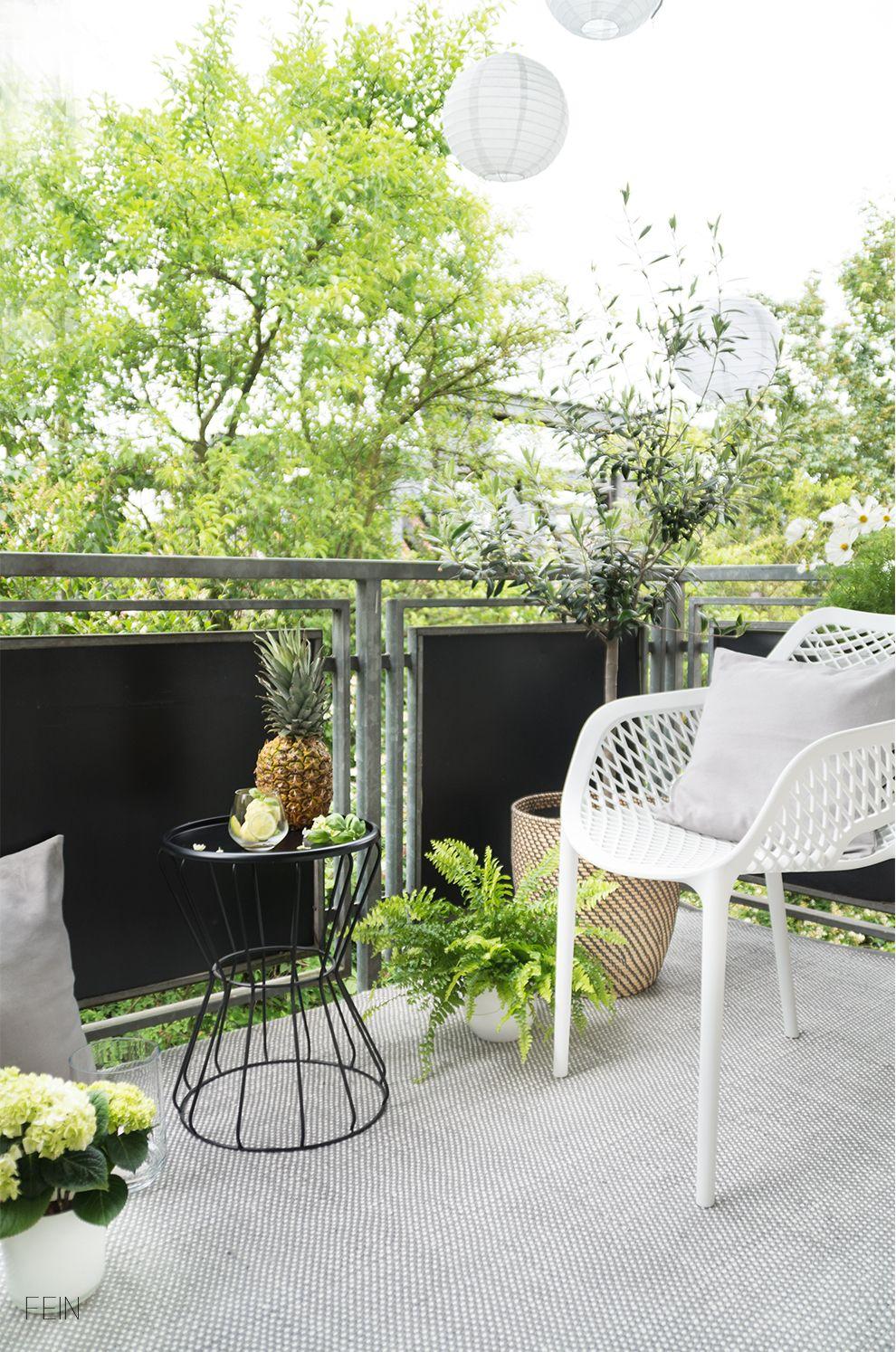 Sommer Auf Dem Balkon Mit Leckeren Abkuhlungen Balkon Ideen Interior