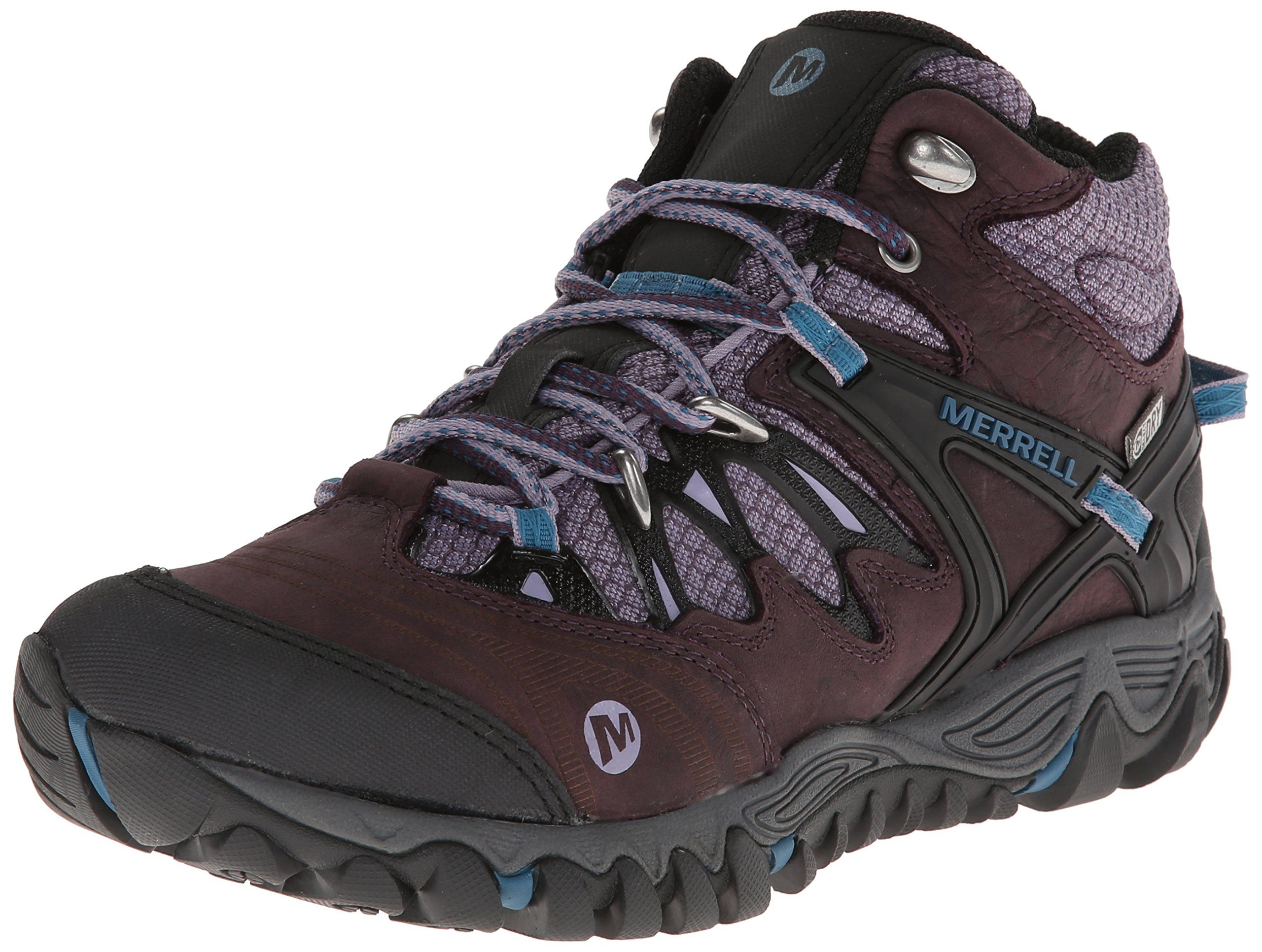 Merrell All Out Blaze Womens Waterproof Hiking Boots Go All Out and unleash  your best hike with this waterproof, responsive, resilient and flexible  shoe, ...