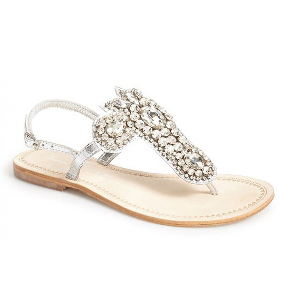 Our Ibiza By Lauren Lorraine Wedding Shoes Are Stunning T Strap Sandals That Brides Adore These Bridal Flats Feature A Ador