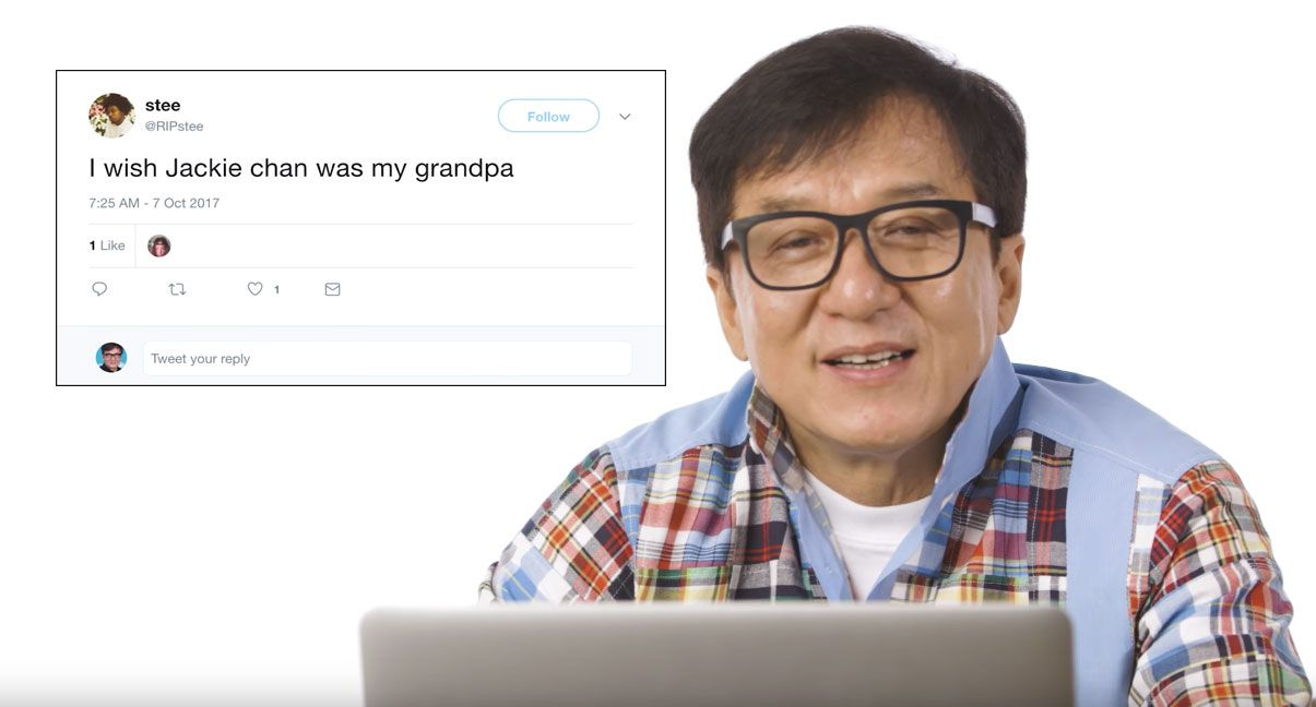 Jackie Chan Went Undercover On Reddit And Other Sites To Answer Fan Questions Jackie Chan This Or That Questions Jackie
