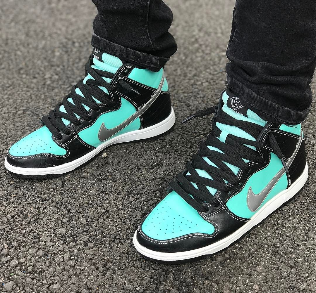 huge selection of f959d 09610 wholesale nike sb dunk high pro diamond 7411c 9efee