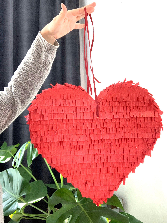 Pinata Herz Hochzeit Piniatta Spiel Zum Befullen Geschenk