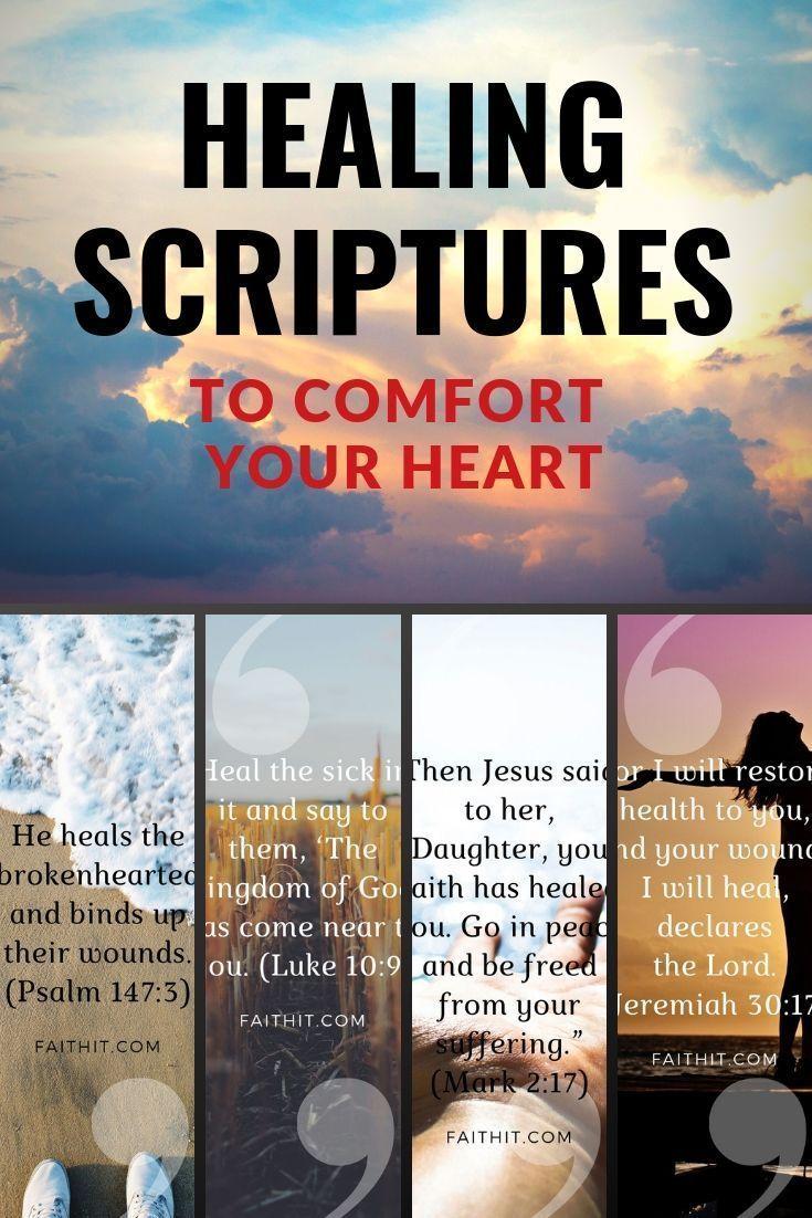 15 Healing Scriptures to Comfort Your Heart | Healing