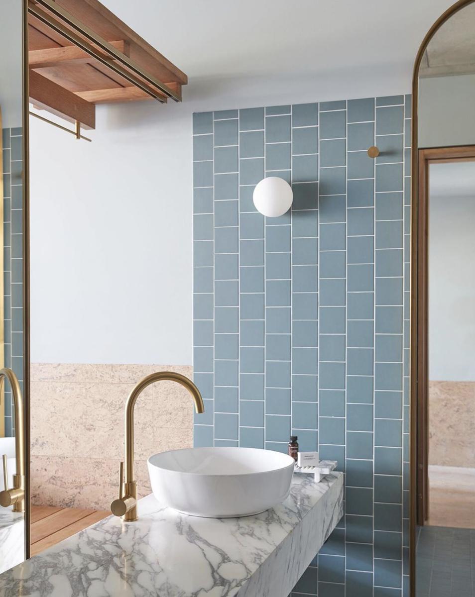 Virtual design of bathroom