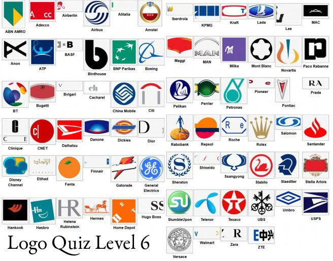 logo quiz solution niveau 6