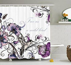How To Incorporate Purple Bathroom Accessories With Images