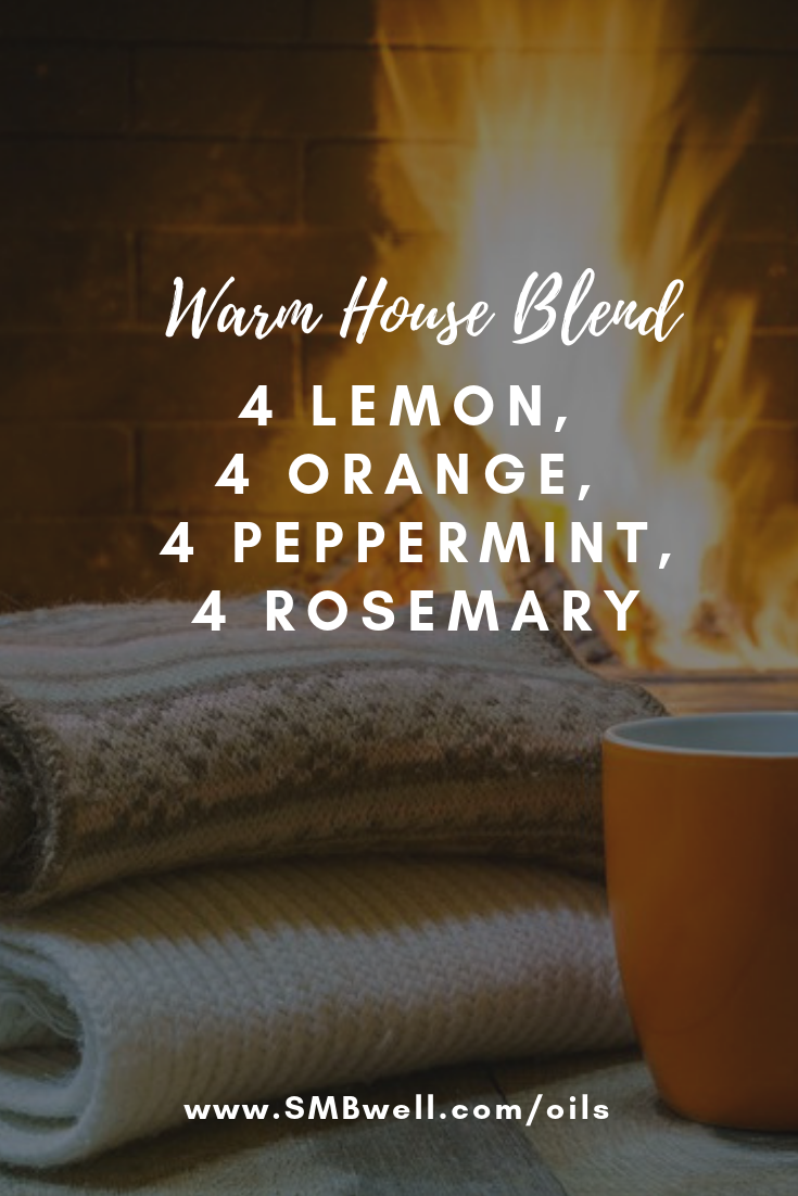 Warm House Blend #winterdiffuserblends