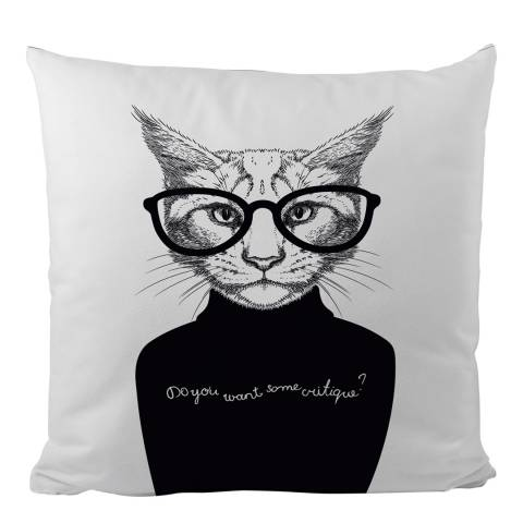 Cushion Pillow Cover Framed Cats