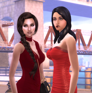 bella goth makeover cc townie makeover If Bella Had A Sister