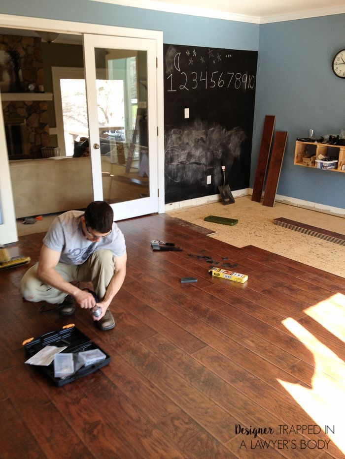 wood laminated flooring...we have yet to decide what color to use as I want  a dark shade and husband wants a lighter shade | Pinterest | Wood laminate,  ...