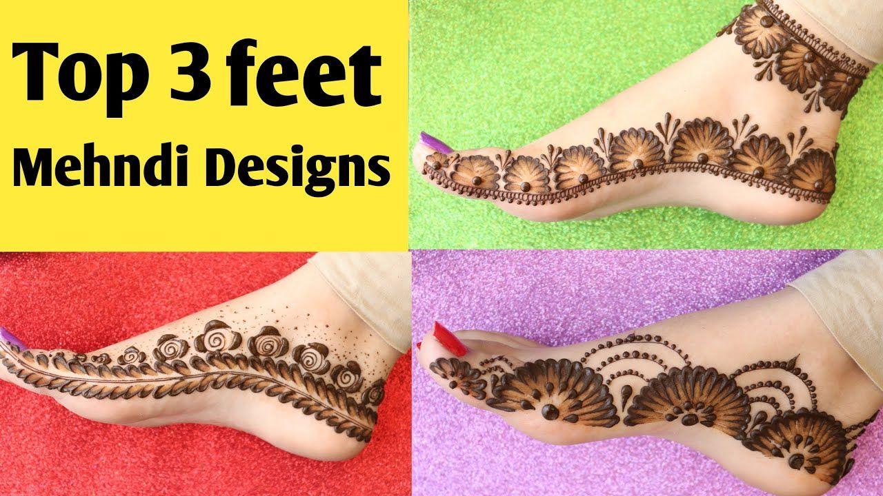 Most Beautiful Feet Mehndi Design 2020 Simple Foot Mehndi Design Easy Leg Mehndi Design H Mehndi Designs Mehndi Designs For Kids Henna Art Designs