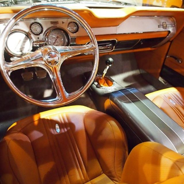 Customized 67 Mustang Interior Custom Car Interior Custom Cars Mustang Interior