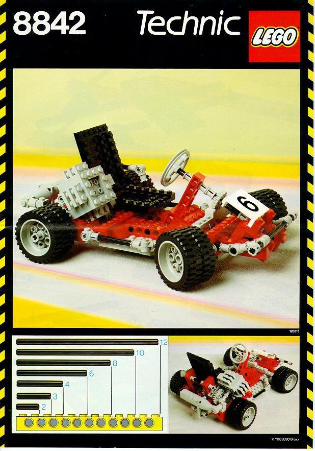 Technic Gokart Lego 8842 When I Was Young Pinterest Lego