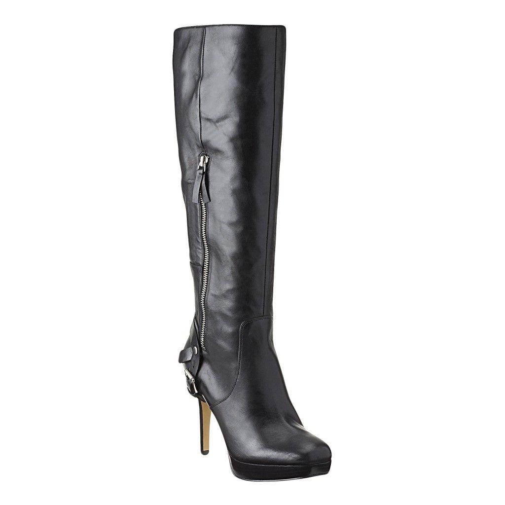 Nine West Ebia Knee High Leather In Black 9wlovesblackwhite Nice I Likey Boots Stunning Shoes Beautiful Boots