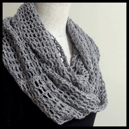 大人かわいい♡かぎ針編みで編む、スヌードの編み図♪