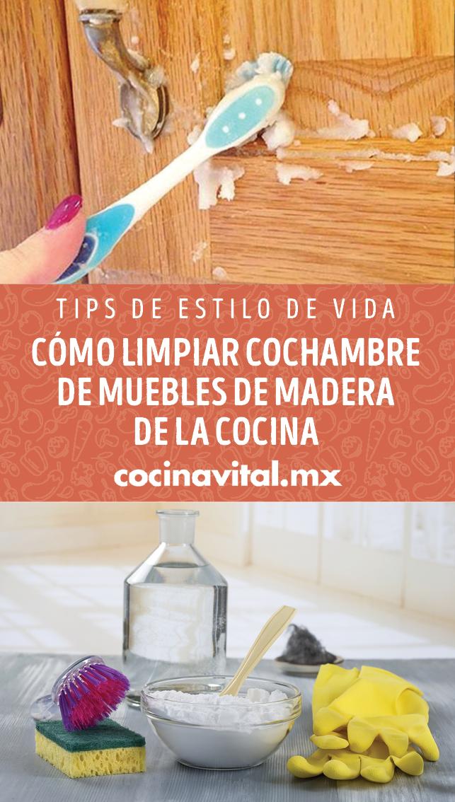 Cómo Limpiar Cochambre De Muebles De Madera De La Cocina En 2020 Trucos De Limpieza Productos De Limpieza Caseros Recetas De Limpieza