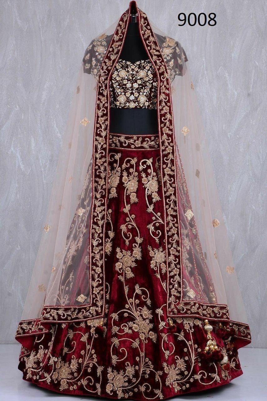 New indian lehenga choli ethnic bollywood wedding bridal party wear