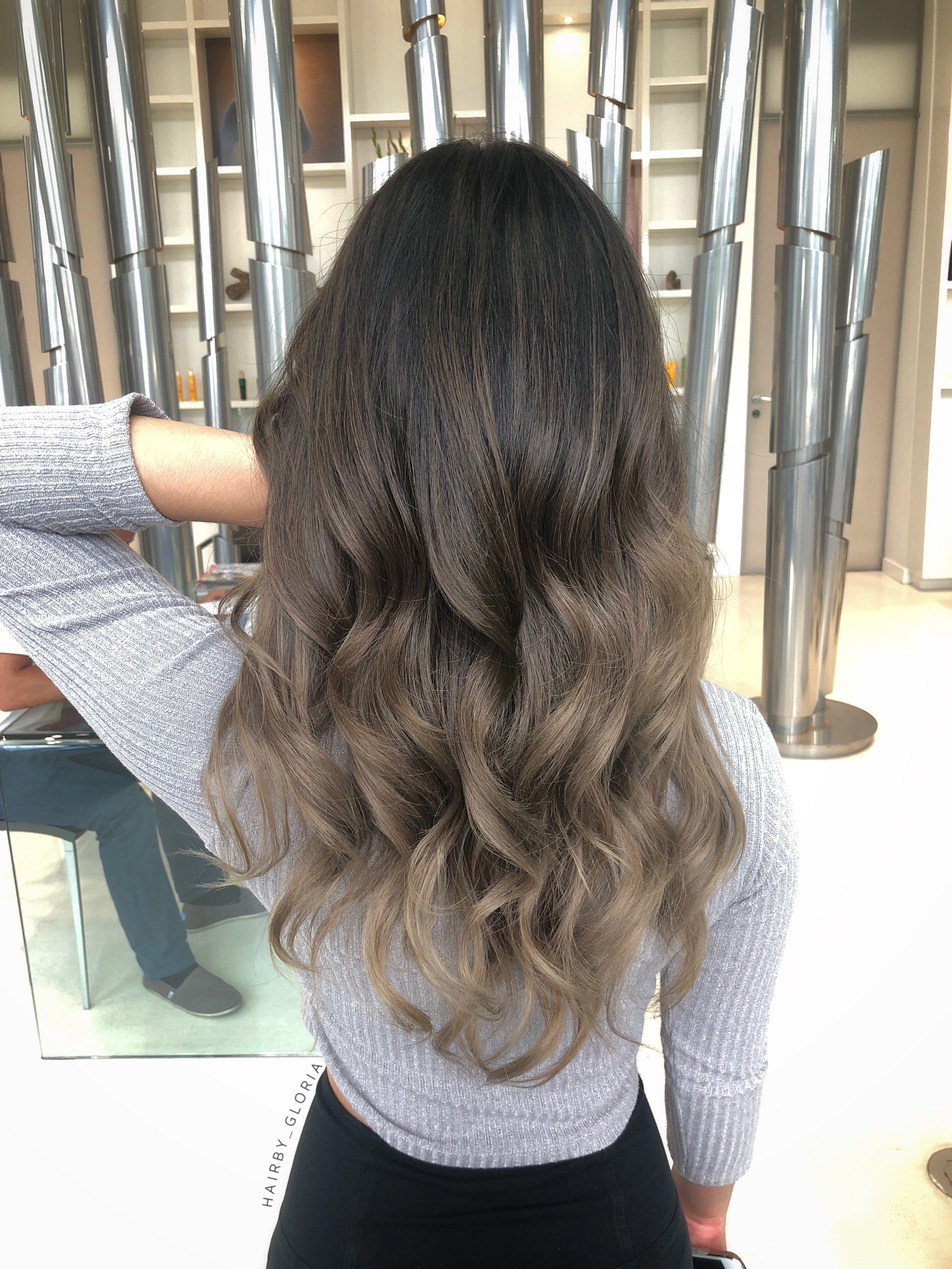 Ash Bronde Balayage Ombre Balayage Asian Hair Asian Hair Bronde Balayage