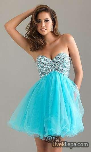 Haljine Za Malu Maturu Blue Graduation Dresses Prom