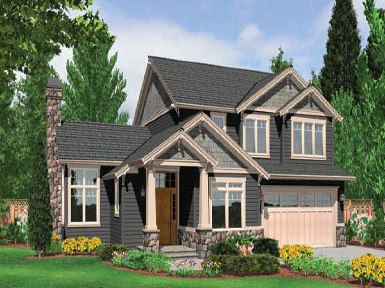 wonderful energy efficient craftsman house plans #4: Modern Craftsman Style House Plans ~ Cltsd