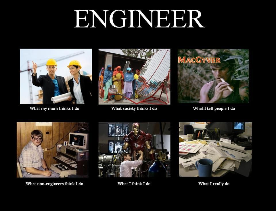 What People think I do Funnies Engineering humor