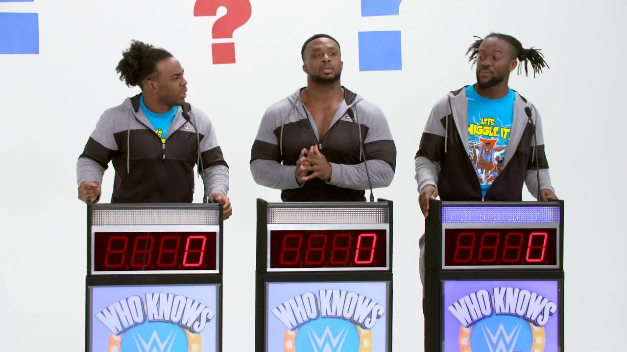 """The New Day compete against each other on """"Who Knows WWE"""